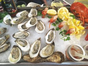 Gallants Seafood oysters